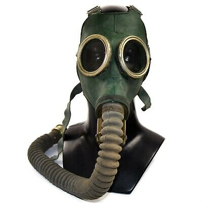 Soviet russian Military Gas mask GP-4. Gas mask + hose.