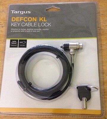 Targus DEFCON KL Laptop Notebook Security Cable