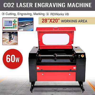 "20"" x 28"" 60W CO2 Laser Engraving Machine Laser Engraver Cutter w.USB Interface"