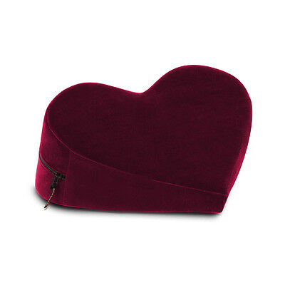 Liberator Heart Merlot,Ultra soft Velvish Material, Machine-Washable uni-sex