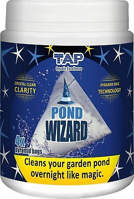 Tap Pond Wizard Clears Green Cloudy Pond Water Filter Boosting Bacteria