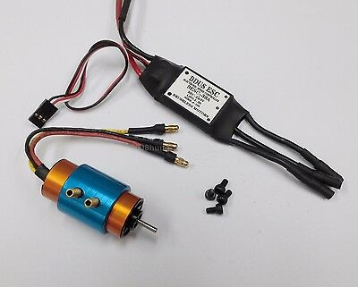 k039K- 1 set B2040 BL Motor S2.3 KV4500 w/water cooling & 30A ESC for RC Boat