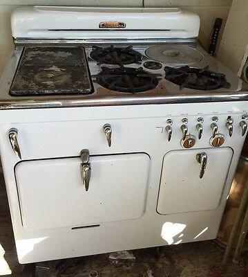 Vintage STOVE by Chambers Gas model  61 C 1950's