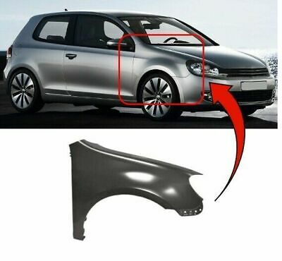 Vw Golf Mk6 2008-2013 Front Wing Driver Side Right New Insurance Approved