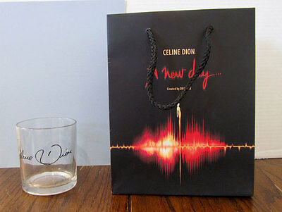 Celine Dion Glass & Bag From A New Day 2002