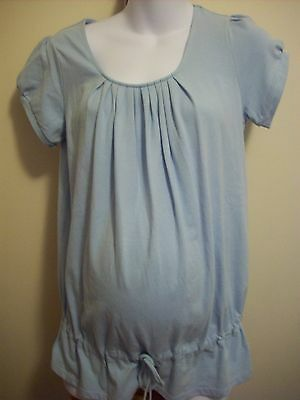 Maternity Plus Short Sleeve Top Size Small