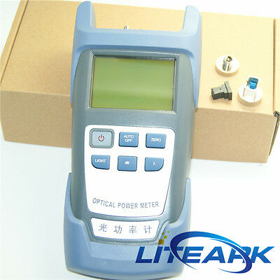 DXP-40D Handle Fiber Optic Optical Power Meter -70~+10dBm SC/FC Connector