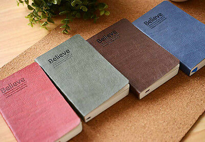 """""""Believe"""" Mini Pocket Notebook Travel Notepad Note Book Memo Diary Planner Gift"""