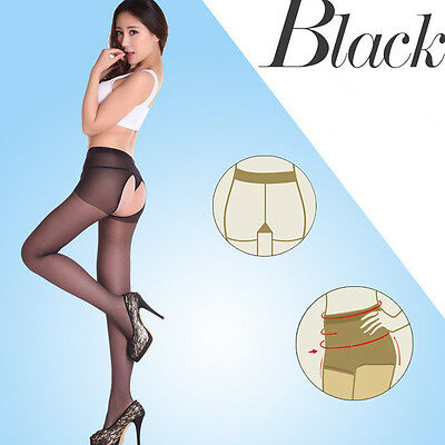 Sexy Girl's Stocking Tight Double Sides Open Ultra-thin Stockings Soft Pantyhose