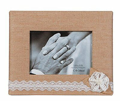 C.R. Gibson Tabletop Photo Frame, 5 by 7-Inch, Moments, New, Free Shipping