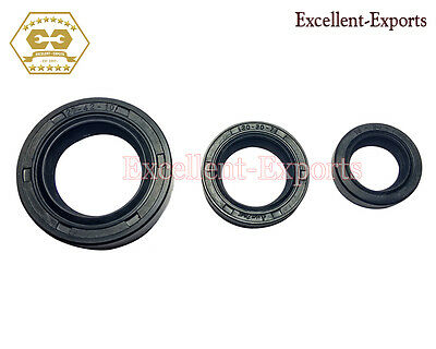 Vespa PX125 PX150 T5 Stella LML Oil Seal Kit set of 3 Brand New P6088