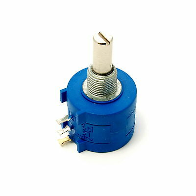 Drahtpotentiometer 10-Gang 470 Ohm - 100 KOhm  4 Watt