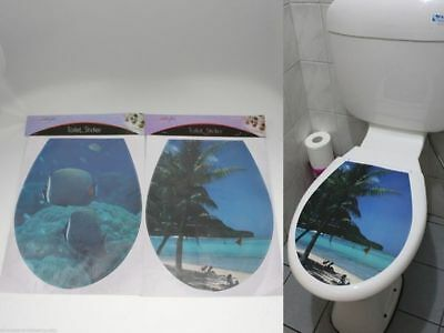24 x Toilet lid Seat sticker cover bulk wholesale lot reduced to clear