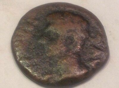 Authentic ancient Roman Emperor? w/ victory on? back coin good detail *99