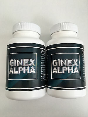 Ginex Alpha - MAN BOOB (Gynecomastia) TREATMENT! Fat Burner 120capsules