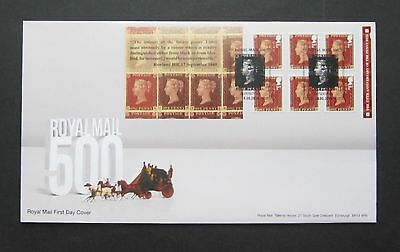2016 Penny RED 175th Anniv 6 x 1st - Booklet FDC, FIRST DAY COVER No 13714