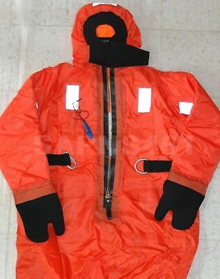 Xingtai  Xtbfk I Immersion Rescue Suit W/head Support, Harness, *size-Xl*