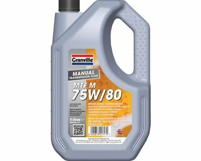 4L Synthetic 75w80 75W/80 MTF Manual Gear Oil 4 Litre GL-4 Mannol MTF-4 Hi Spec