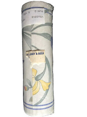 Villeroy & Boch Wallpaper Border Riviera 5 yards Sealed New In Package
