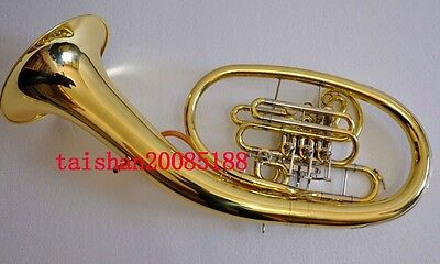 Professional Gold JINBAO F/Bb key wagner horn Cupronicekl tuning pipe with case