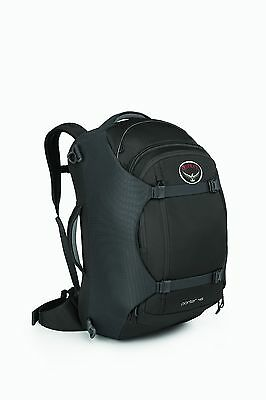 Osprey Porter 46 BLACK CARRY ON LUGGAGE - CLEARANCE SALE LIMITED STOCK