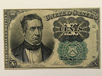 10 Cents Fractional Currency, Fifth Issue Fr-1264, Uncirculated