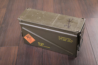 Amunitions Kiste Munition Gesamtgew.19 kg Kasten Armee PA-120 Military can box