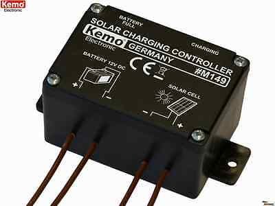 KEMO M149 Solar charger controller    Made in Germany