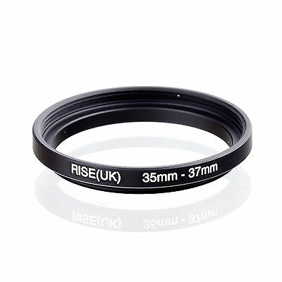35mm to 37mm 35-37 35-37mm35.5mm-37mm Stepping Step Up Filter Ring Adapter