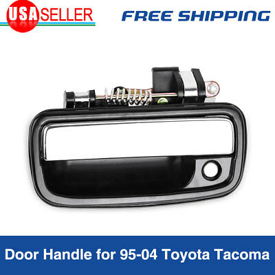 Front Outside Outer Exterior Chrome Left Driver Door Handle for 1995-2004 Tacoma