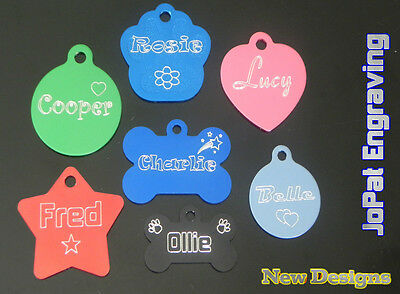 Dog Cat Puppy Kitten Collar Tag Pet ID Name Tags - DEAL - Buy 2 Get 1 FREE