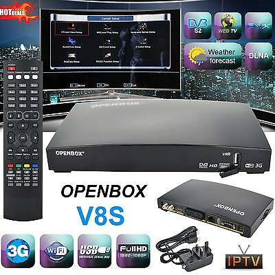 GENUINE OPENBOX V8S HD TV Satellite Receiver Smart Set Top Box for Skybox F5S