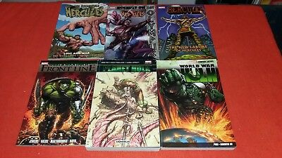 Planet Hulk Omnibus 92 - 105  World War Hulk 1 - 5 & Hulk Vol 4 Graphic Novel Nm