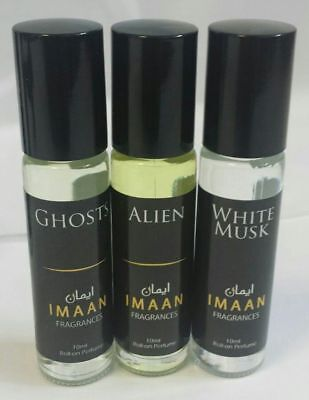 IMAAN FRAGRANCES 10ml - 4 FOR £9.99 - FULL RANGE - Designers & Classicals