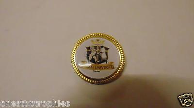 PERSONALISED  METAL PIN BADGE PRINTED WITH YOUR OWN NAME, DESIGN OR LOGO am005