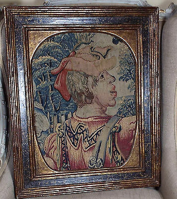 Late 16th Early 17th Century French Renaissance Aubusson Figural Tapestry