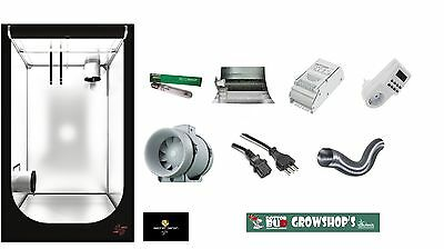Kit Coltivazione Indoor Growbox Grow Box 120X120X200 Completa 600W Hps