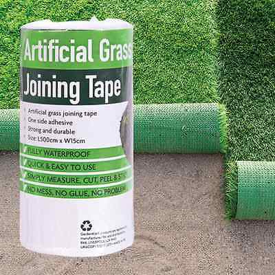 Artificial Grass Tape -Self Adhesive Joining Jointing fixing Turf Tape 5m -15cm
