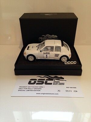 OSC B01009 Peugeot 205 T16 EVO1 WRS 1 Limited Edition 1 of 124 Pcs NEW IN STOCK