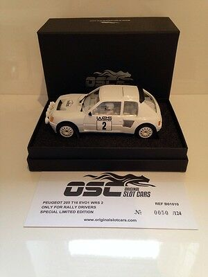 OSC B01010 Peugeot 205 T16 EVO1 WRS 2 Limited Edition 1 of 124 Pcs NEW IN STOCK