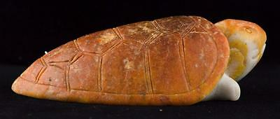 Fine Chinese Hardstone Carved Turtle
