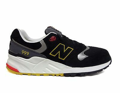 low priced 9832a 83254 NEW BALANCE MEN'S PINBALL PACK 999 ELITE EDITION Running Shoes Black  ML999PB a1