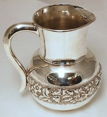 P.L Krider Sterling Silver Pitcher