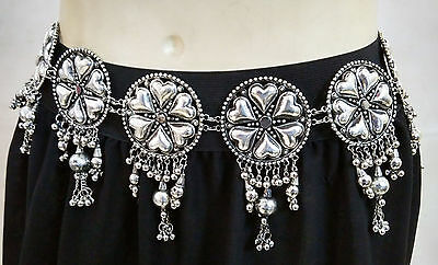 Tribal Fusion Belt Belly Dance Hip Scarf Jewelry Ethnic Kuchi Gypsy Afghan Boho