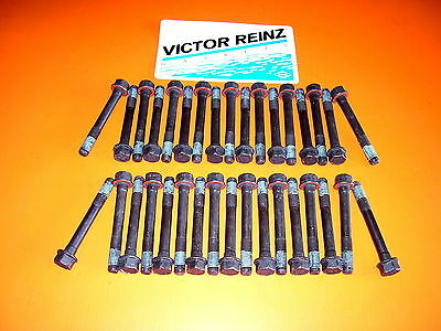 92-04 Fits Chevy Gmc  Diesel 6.5  Victor Reinz  Head Gasket Set + Head  Bolts