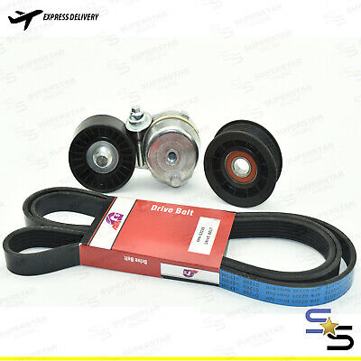 suite;FORD FALCON BF FG FG DRIVE BELT TENSIONER & IDLER PULLEY KIT