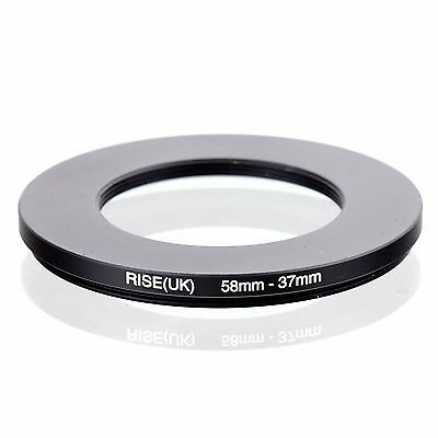 RISE (UK) 58-37MM 58MM-37MM 58 to 37 Step Down Ring Filter Adapter