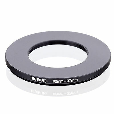 RISE (UK) 62-37MM 62MM-37MM 62 to 37 Step Down Ring Filter Adapter