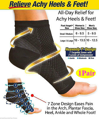 Plantar Fasciitis Ankle Support Brace for Sports Ankle Compression Foot Sleeve