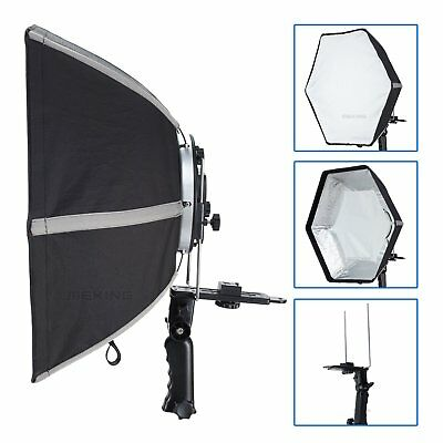 Selens Photographic Soft box 50cm Hexagon Softbox With L-Shape Adapter Ring US